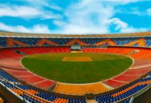 Motera Stadium equipped with new decoration and latest facilities for the third Test match between India and England