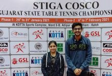 Afrin Murad of Surat wins girls title in Gujarat State Table Tennis Championship held at Gandhidham Kutch
