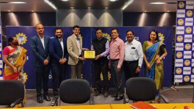 Delegation of Chamber of Commerce visits Federation of Telangana Chamber of Commerce and Industry